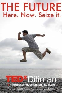 Visionary journalist-editor Roby Alampay is model-poster boy for TEDxDiliman . CONTRIBUTED IMAGE