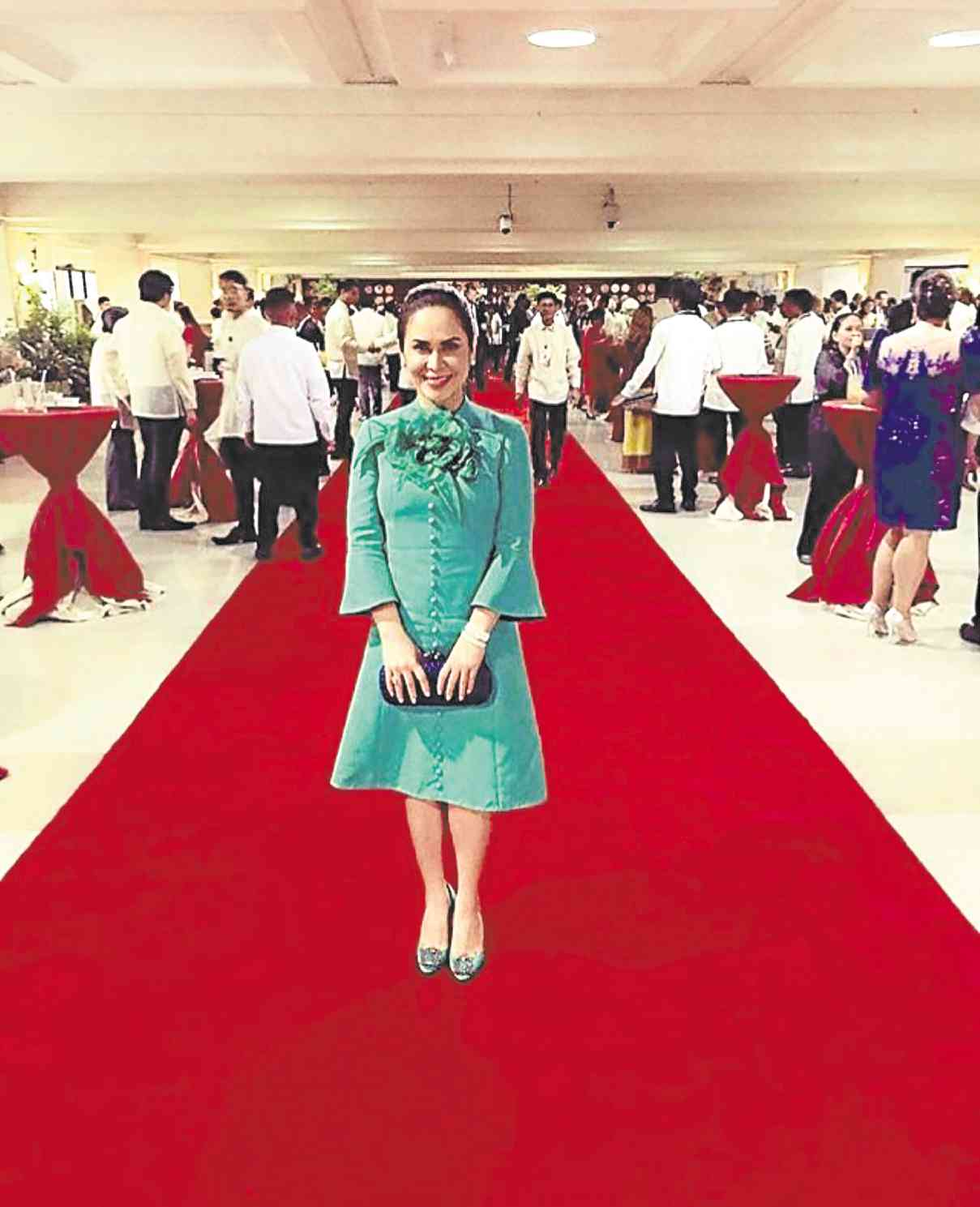 JINKEE Pacquiao so stylish in Gucci