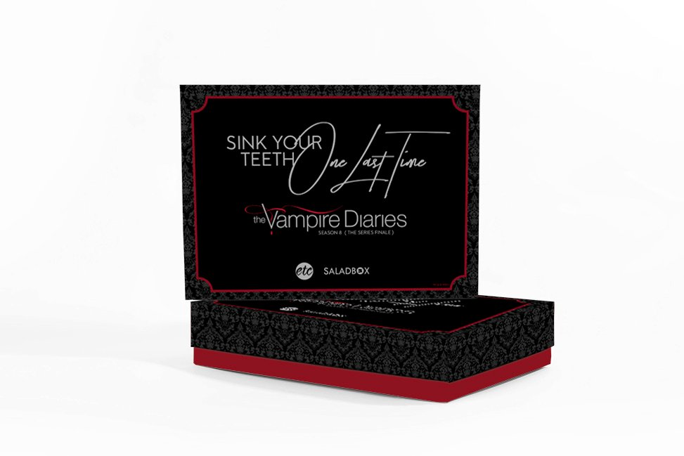 The Vampire Diaries x Saladbox